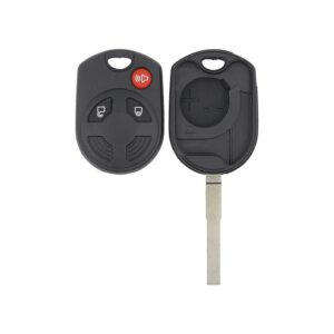Ford 3 Button Old Style Remote Head Key Shell - HU101 Keyway