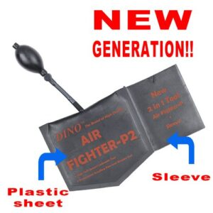 Dino Air Fighter-P2 Wedge with Packet + Sleeve With Enclosed Hard Plastic NEW GENERATION