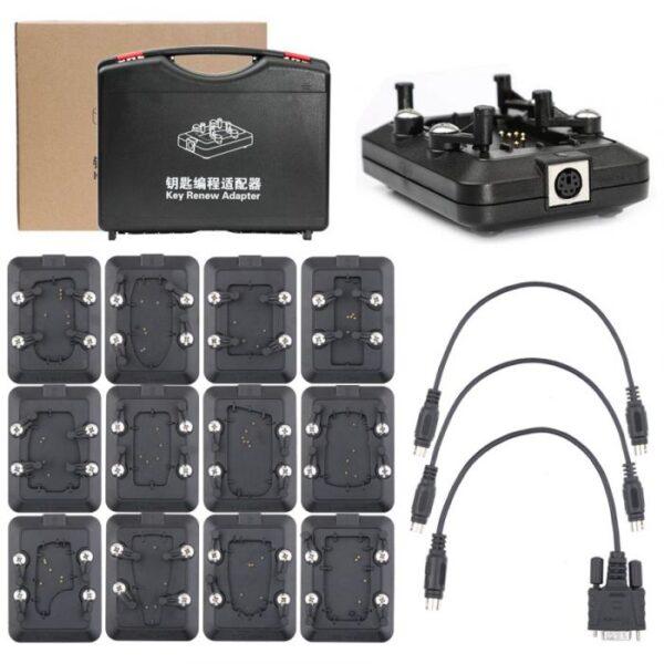 Xhorse VVDI, MK3 and REMUnlocker Key Tool Key Renew (Unlocking) Adapters 12 Piece Full Set