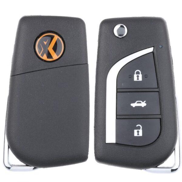 Xhorse Wired Universal Remote Head Key for VVDI Key Tool - Toyota Style XKTO00EN