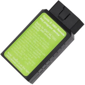 Green Programming Dongle For Toyota Including G and H Keys (ADD KEY ONLY)