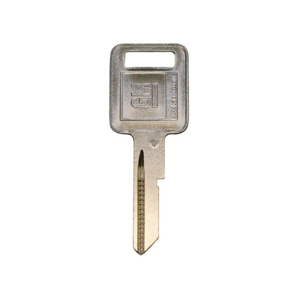 Strattec P1098A - B48 GM Logo Single Sided 6 Cut Key Blank A stamp 10 Pack