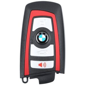 2009 - 2014 BMW F -Series Smart Key - 4 Button 434 MHZ - OEM YGOHUF5767 Blue or Red