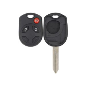 Ford Lincoln Mazda Mercury 3 Button Old Style Remote Head Key Shell - H75 Keyway