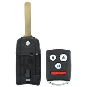 Acura Flip Key Shell with 46 Chip - 4B Trunk