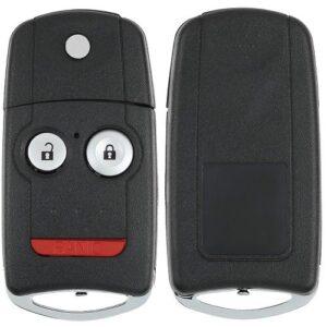 Acura Flip Key Shell with 46 Chip - 3B