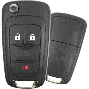 2010 - 2021 GM High Security Remote Flip Key Shell - 3B