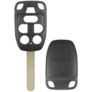 Honda Odyssey 6 Button Aftermarket Remote Head Key Shell with Back Cover