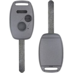 2003 - 2011 Honda 3 Button Remote Head Key Shell w/ Place for Chip- DURABLE