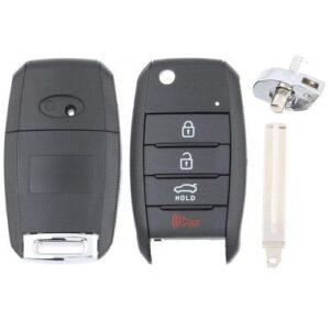 Kia Flip Key Case 4B Trunk with KK10 High Security Blade