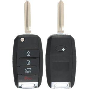 Kia Flip Key Case 4B Trunk with HY15 Blade