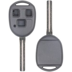 1997 - 2001 Lexus Remote Head Key D-Shell - Long Blade