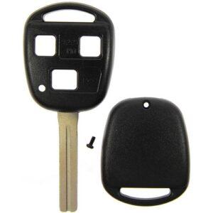 2000 - 2008 Lexus Remote Head Key Shell - Short Blade