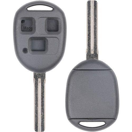 2000 - 2008 Lexus Remote Head Key D-Shell - Short Blade