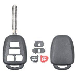 2012 - 2019 Toyota New Style Remote Head Key Shell 4B Trunk