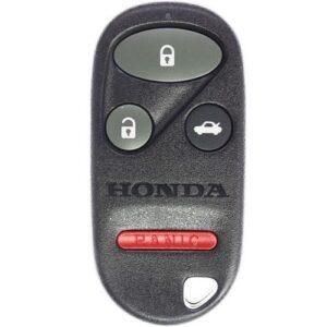 2002 - 2004 Honda CR-V Keyless Entry Remote 4B Trunk - OUCG8D-344H-A