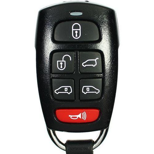 2007 - 2009 Hyundai Entourage Keyless Entry Remote 6B Hatch / Power Doors - SV3-100060235 / 233