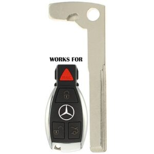Mercedes 2010 and Up New Style Aftermarket Emergency Key