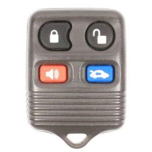 1998 - 2004 Ford Grey Keyless Entry Remote 4B Trunk - CWTWB1U311/343/313