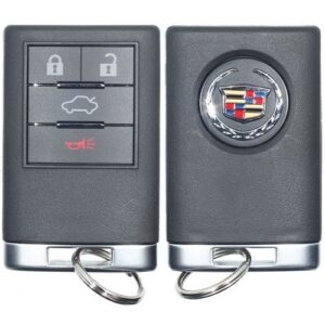 Strattec 2008 - 2013 Cadillac DTS CTS Keyless Entry Remote 4B Trunk - 5923877