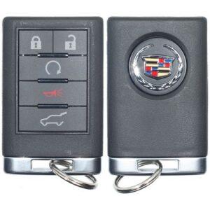 Strattec 2007 - 2013 Cadillac SRX CTS Keyless Entry Remote 5B Hatch / Remote Start - 5923883