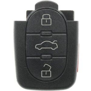 1998 - 2001 Volkswagen Round Button Flip Key - Remote Part IJ0959753F
