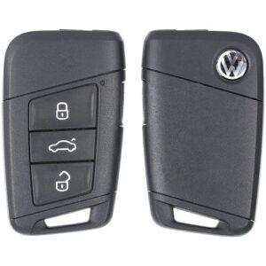 2018 - 2020 Volkswagen Atlas Jetta Prox Key 3G0-959-752-S without Remote Start MQB HU162T Keyway