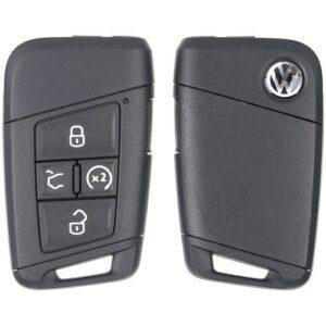 2018 - 2020 Volkswagen Prox Key 3G0-959-752 BB with Remote Start MQB HU162T Keyway