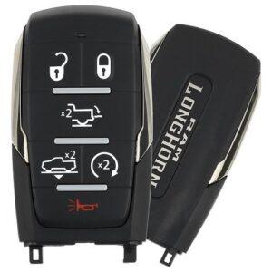2019 - 2021 Ram 1500 Longhorn Smart Key 6B Starter / Tailgate / Air Suspension - OHT-4882056 - 433 MHz