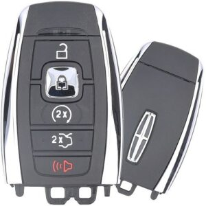 2017 - 2021 Lincoln 2-Way PEPS Smart Key - 5 Button Trunk or Hatch / Remote Start 902 Mhz
